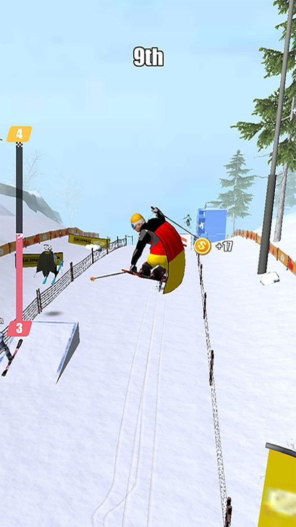 极限滑雪竞赛3D安卓版下载-极限滑雪竞赛3D手机版下载