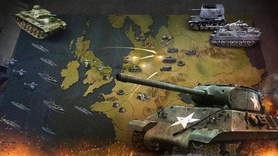 关于二战的军事策略游戏