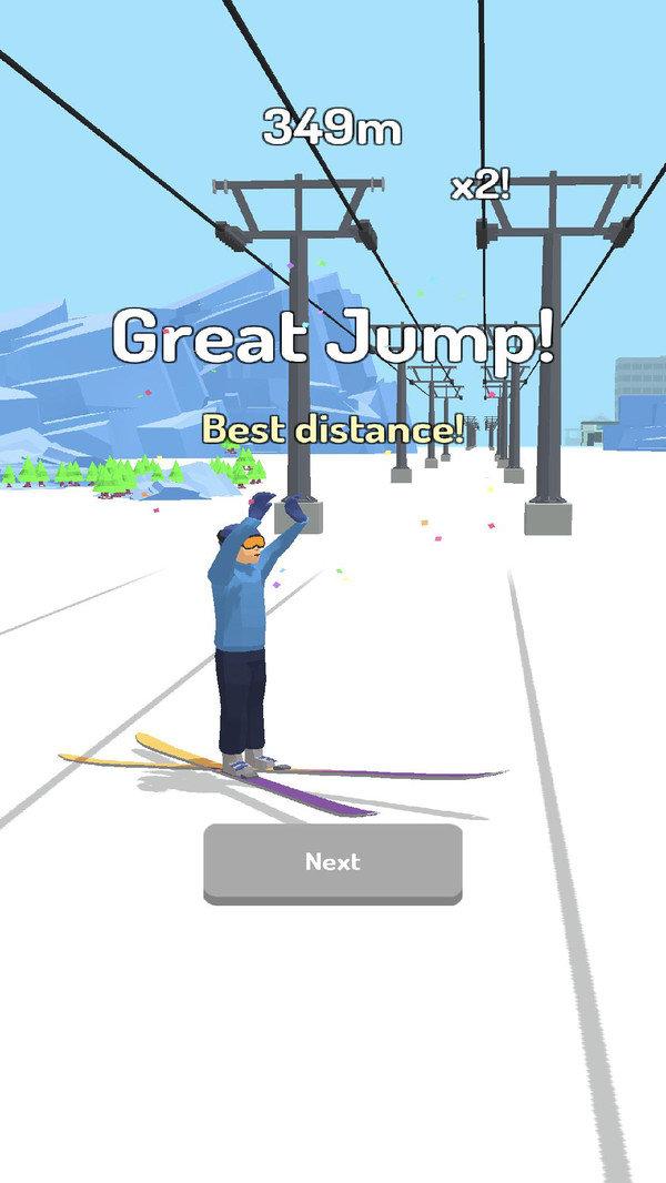跳台滑雪3D游戏下载-跳台滑雪3D安卓版下载