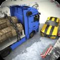雪地货运卡车停车模拟器