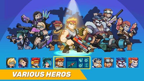 汽車英雄自動射擊游戲下載-汽車英雄自動射擊破解版下載