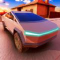 未来汽车驾驶模拟器3D