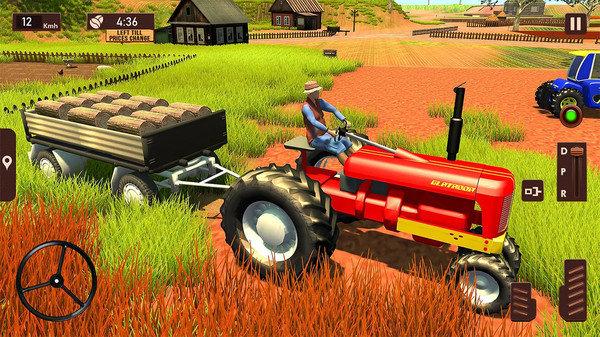 农用拖拉机模拟