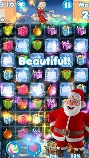 圣诞老人消冰红包版中文版游戏下载-圣诞老人消冰赚钱版游戏下载