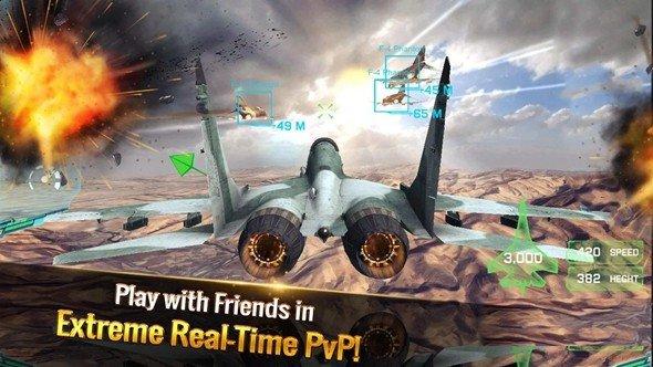 王牌战斗机空战游戏下载-王牌战斗机空战安卓版下载