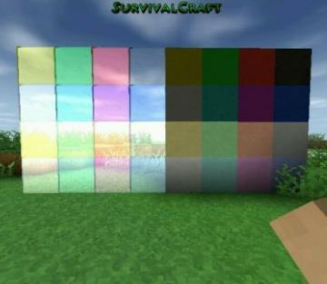生存战争彩色方块mod