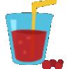 我爱喝果汁