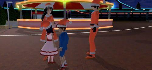 樱花校园模拟器圣诞节(新版)1.038下载-樱花校园模拟器圣诞节(新版)圣诞屋下载