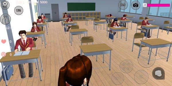 樱花校园模拟器2021最新版破解版-樱花校园模拟器2021破解版v1.038.01下载
