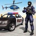 警察精英小队射击犯罪