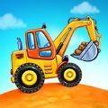 蓋房子卡車
