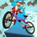 自行车特技冬季