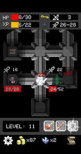 地牢爬行者安卓中文版下载-地牢爬行者游戏汉化版下载