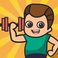 男人就要练肌肉