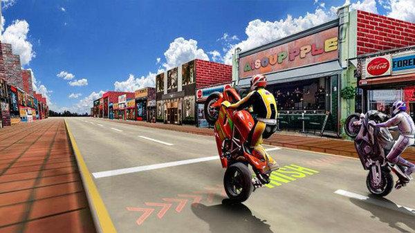 疯狂赛车摩托无限金币版