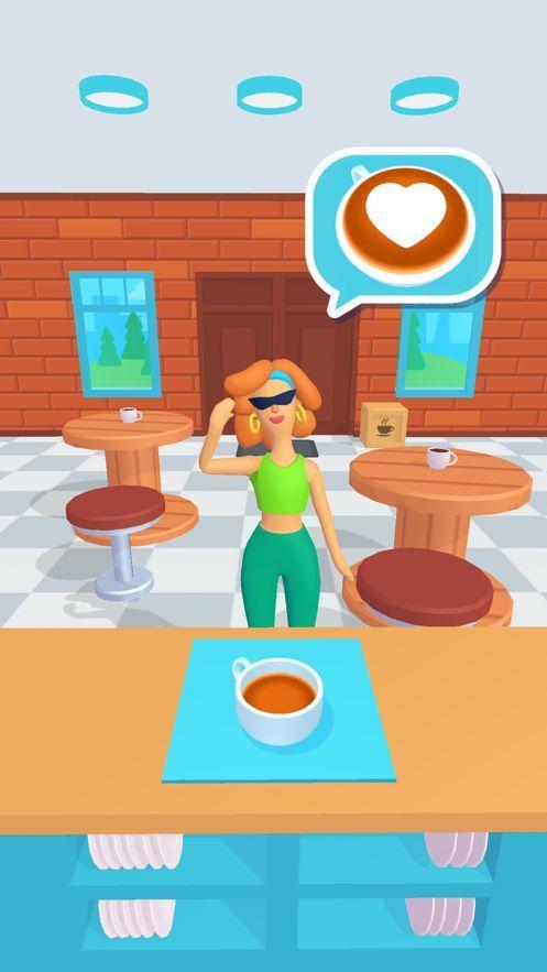 3D咖啡店苹果版