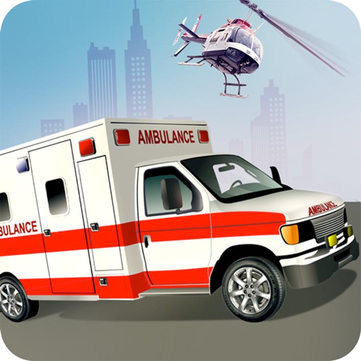 新型救護車救援模擬器IOS版