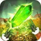 翠绿的宝石