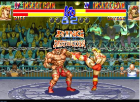 摔跤霸王世界版