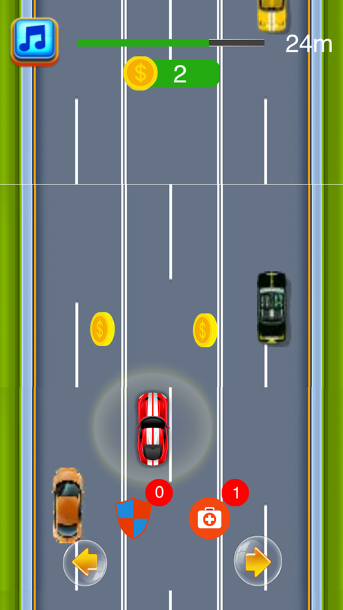 快速可爱的赛车iOS版截图