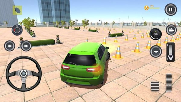 汽车城市障碍赛