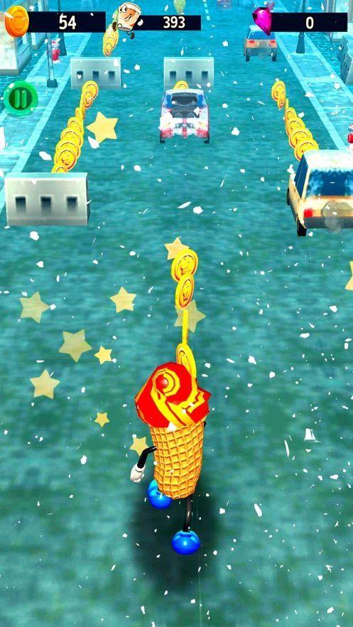 冰激凌跑步者iOS版截图