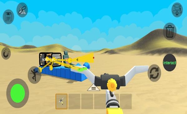 超级科技沙盒游戏截图