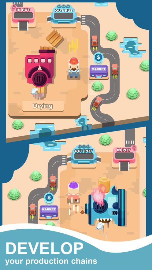 闲置锯木场大亨iOS版截图