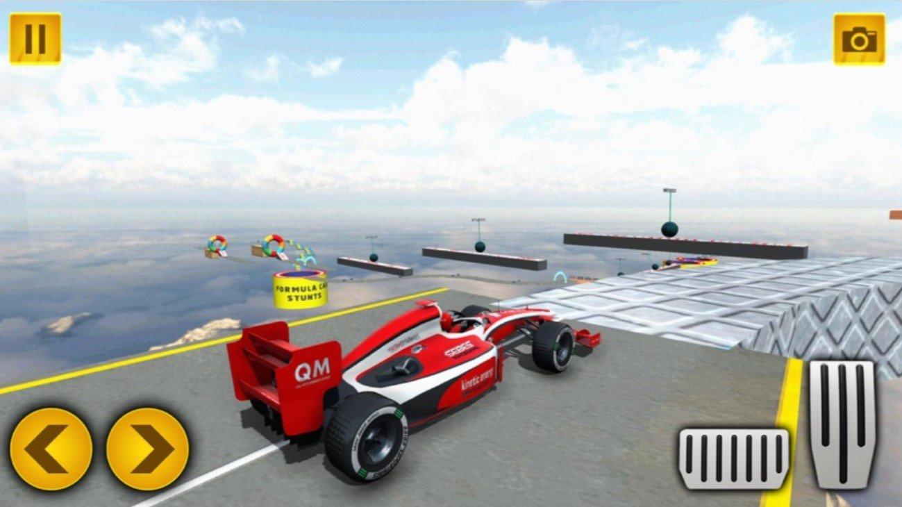 盛大式特技汽車游戲兆坡道汽車競速蘋果版
