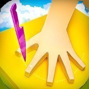 刀戳手指縫
