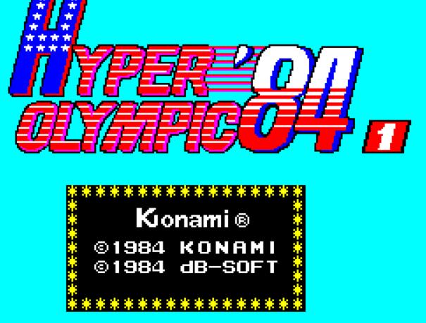 疯狂奥运84