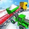 雪货物拖车运输