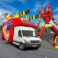冰淇淋機器人面包車改造