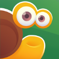 蜗牛吃苹果