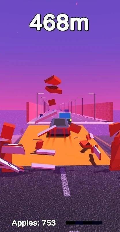 停车场拥堵3D