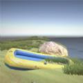 木艇求生荒岛漂流历险