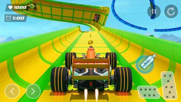 超級英雄式競速汽車蘋果版截圖