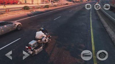 都市摩托模拟器