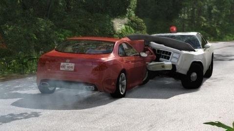 抖音车祸模拟器游戏截图