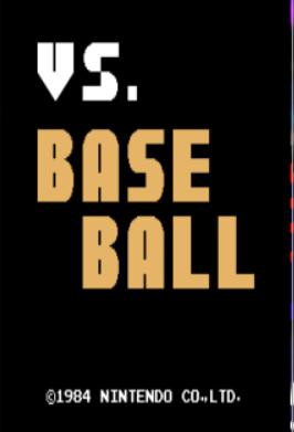 VS棒球日版