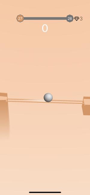 滚动小球游戏截图