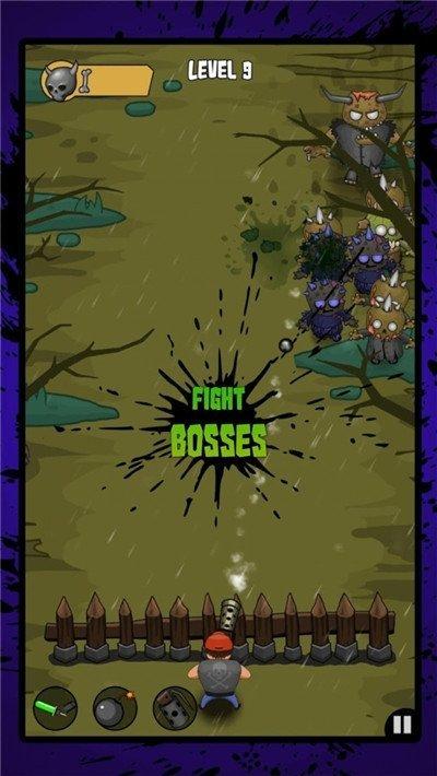 僵尸之路突袭游戏截图