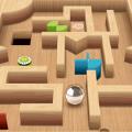 迷宮滾動球3D