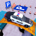 警车驾驶公园挑战赛