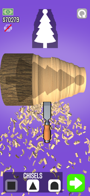 抖音削木头