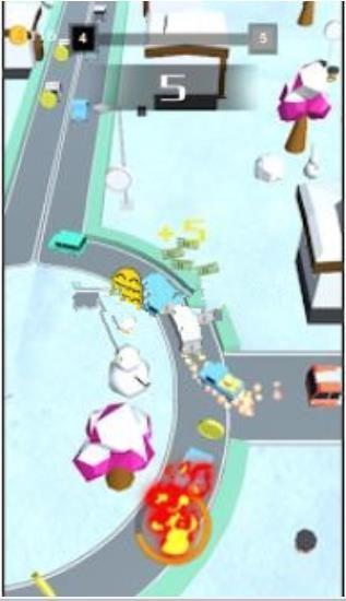 闲置城市赛车截图