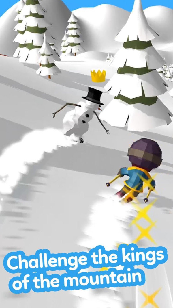 冰雪滑坡截圖