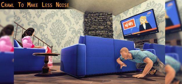 嚇人的小偷模擬器