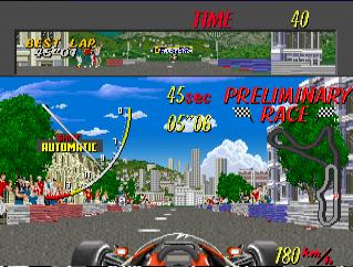 超级摩纳哥GP赛车日版