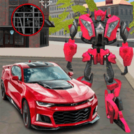 变形汽车机器人